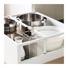 METOD / MAXIMERA Högskåp med lådor - Veddinge vit, vit, 60x60x200 cm - IKEA