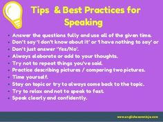 Aptis speaking test Task 1 &2 English, Thoughts, This Or That Questions, Sayings, Tips, Lyrics, English Language, Quotations, Idioms