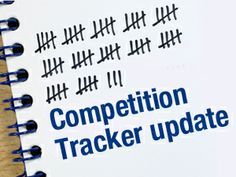 Competition Tracker update!