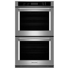 sharp microwave drawer 24. kitchenaid 27 in. double electric wall oven self-cleaning in stainless steel kodt107ess at sharp microwave drawer 24