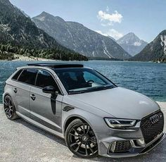 Audi ABT with . Is this the perfect toy to drive every day? Audi Sportback, Audi A6 Allroad, Audi Q7, Audi Rs 3, Audi Cars, Audi Wagon, Black Audi, Vw Passat, Amazing Cars