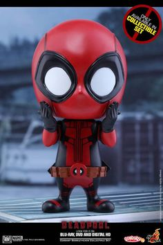 Hot Toys' Deadpool Cosbaby Figures are Adorable Assassins Deadpool Chibi, Chibi Marvel, Marvel Vs, Marvel Heroes, Marvel Comics, Chibi Characters, Marvel Characters, Deadpool Classic, Funko Pop
