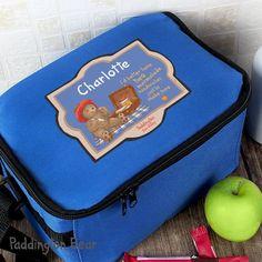 Personalised Paddington Bear For Baby Lunch Bag f81bdbe020044