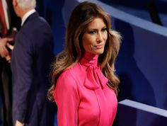 Gucci has not released a formal statement about how Republican presidential  nominee, Donald Trump's wife, Melania, wore a hot pink pantsuit from its  Pre-Fall 2016 collection to the Presidential Debate on Sunday evening. The  Italian design house has, however, made a less overt statement. Instead of  featuring a photo of Trump in her Gucci look on its social media – as the  house has been so prone to do when celebrities, such as Elle Fanning, Cate  Blanchett, Amal Clooney, and Dakota…