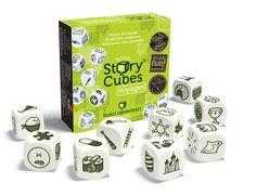 9 kości, 54 obrazy, nieskończona ilość opowieści. Oto prosta w założeniach i jednocześnie genialna gra, która dostarczy wam masę radości, stanowiąc przy tym doskonały trening pomysłowości i wyobraźni. Story Cubes to dziewięć ładnie wykonanych, sześciennych kostek, z których każda zawiera na ściankach odmienny zestaw ilustracji.      Story Cubes: Podróże są drugim rozszerzeniem kostek opowieści. Tym razem posiadają...