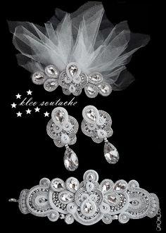 Sutasz Kleo /Soutache jewellery: MADELINE II
