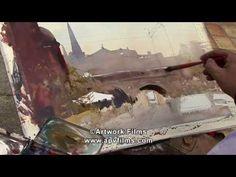 Pintando Con Pasion en Amberes: Alvaro Castagnet