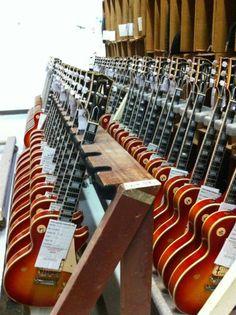 """Ace Frehley """"Budokan"""" Les Paul Custom's ready to roll"""