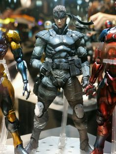 Very detailed Metal gear solid action figure