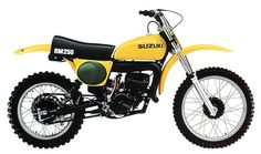 "I remember them well and rode a few but owned a 250 ""dual purpose""Suzuki. Suzuki Dirt Bikes, Mx Bikes, Motocross Bikes, Vintage Motocross, Suzuki Volusia, Chopper Bike, Great Pic, Dirtbikes, Vintage Bikes"