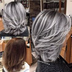 """739 Likes, 8 Comments - FRAMAR (@framarint) on Instagram: """"Sexy Silver Smoke Transformation @jackmartincolorist"""""""