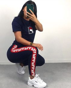 41 Best Fila outfit images in 2020 | Fila outfit, Cute