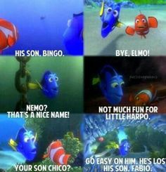 Nemo: the name dory find hard to remember
