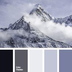 el color de las montañas