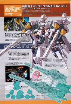 Mobile Suit Gundam NT Katoki Hazime Mechanical Archives Narrative Gundam A Equipment / Equipment B Related Image Mecha Suit, Gundam Wallpapers, Gundam Mobile Suit, Unicorn Gundam, Gundam Art, Custom Gundam, Mecha Anime, Mechanical Design, Robot Art