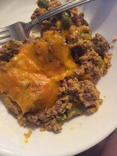 Atkins Big Mac. Bariatric friendly recipe