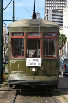 Take the St. Charles Street Car to the Camillia Grille for breakfast. You'll never forget it.