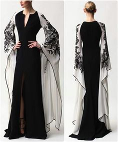 Evening Dresses 2017 New Design A-line White And Black V-Neck Sleeveless Backless Tea-length Sashes Party Eveing Dress Prom Dresses 2017 High Quality Dress Fuchsi China Dress Up Plain Dres Cheap Dresses Georgette Online Beautiful Gowns, Beautiful Outfits, Evening Dresses, Formal Dresses, Elegant Evening Gowns, Red Formal Gown, Fantasy Dress, Mode Inspiration, Dream Dress