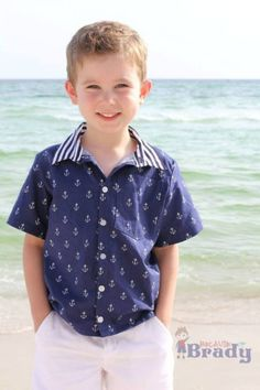 Porter's Button-Up Shirt | Sewing Pattern | YouCanMakeThis.com