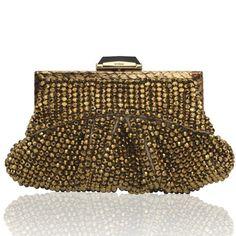 Fino in Gold - KOTUR Clutch & Minaudiere #KOTUR #FW13
