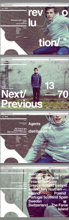 Web design typography