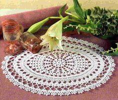 crochet vintage doily pattern free   Crochet Doilies Free Patterns Knitting Doily Pic #14