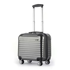 Pro HT Lightweight ABS Luggage 16 Carry-On Suitcase