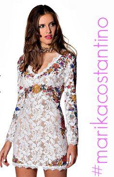 Flower dress www.marikacostantino.it Shop Online