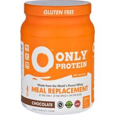 For the Health Nut: Chocolate Whey Meal Replacement - Only Protein