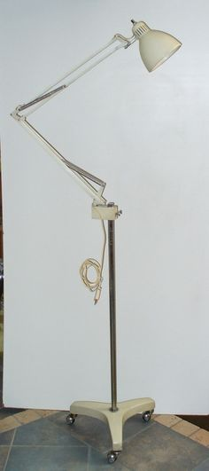 Naska Loris Luxo floor lamp.  All original 1950s.  Size: h. cm.180.  design1958@gmail.com  www.design1958.com