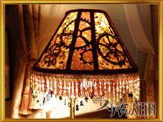 DIY Steampunk lamp shade