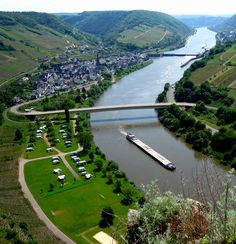 Neef, Germany on the Mosel River. Wine Country and along a great cycling route. Places Around The World, Around The Worlds, European River Cruises, Wanderlust, Germany Travel, Wine Country, Travel Destinations, Beautiful Places, Scenery