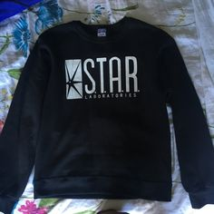 0c854cae Star labs black sweater from The Flash. Super cozy and comfortable. Size S #