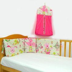 pink mouse cot bundle