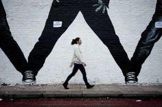 Wall art in Shoreditch. #oldstnewart #oldstnewrules