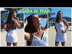 "DIY: Customização - ""SAÍDA DE PRAIA"" por Elisa Bighetti - YouTube Convertible Clothing, Diy Purse, Diy Clothing, Diy Tutorial, Youtube, Fashion Outfits, Clothes, Instagram, Beach Fashion"