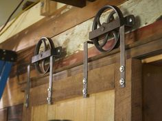 sliding+barn+doors | How to Build a Sliding Barn Door : How-To : DIY Network