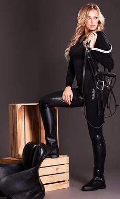 – Breeches – – Reithose – - Art Of Equitation Women's Equestrian, Equestrian Outfits, Equestrian Fashion, Cow Girl, Riding Boot Outfits, Riding Boots, Sexy Outfits, Chic Outfits, Fashion Outfits