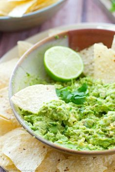 You'll never go back to storebought again after one taste of this flavor-packed guacamole. Whips up in less than 5 minutes and the flavors are outta this world and perfect for your Cinco de Mayo bash!