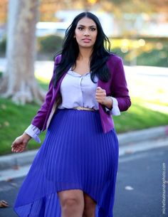 Plus Size - Cute Skirt