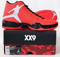 Nike Men's Air Jordan XX9 Basketball Shoes 695515 623 Infrared 23/White/Black…