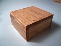 Cherry Wooden Trinket Boxes - $15