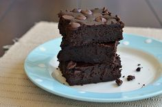 Fudgy Black Bean Brownies. Who would have thought? My kids and husband love black beans, I wonder how these would go over.