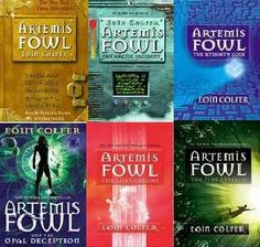 Artemis Fowl Series (:  Artemis Fowl  Arctic Incident  The Eternity Code  Opal Deception  The Lost Colony  Tie Paradox