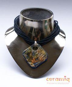 Ceramic jewelry in single copies. by ceramiqatelier on Etsy