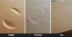 Praktický trik ako odstrániť preliačiny alebo jamky a tak zachrániť poškodený povrch dreveného nábytku.