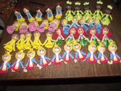 Ponteiras - festa princesas