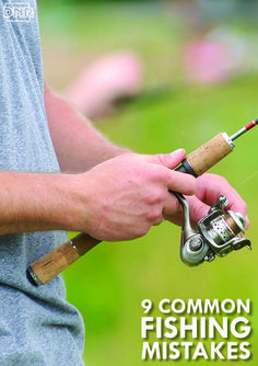 9 common fishing mistakes and how to fix them   Iowa DNR