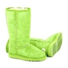 Lime Green Ugg Boots