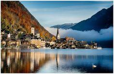 Hallstatt, Austria Been there done that :D
